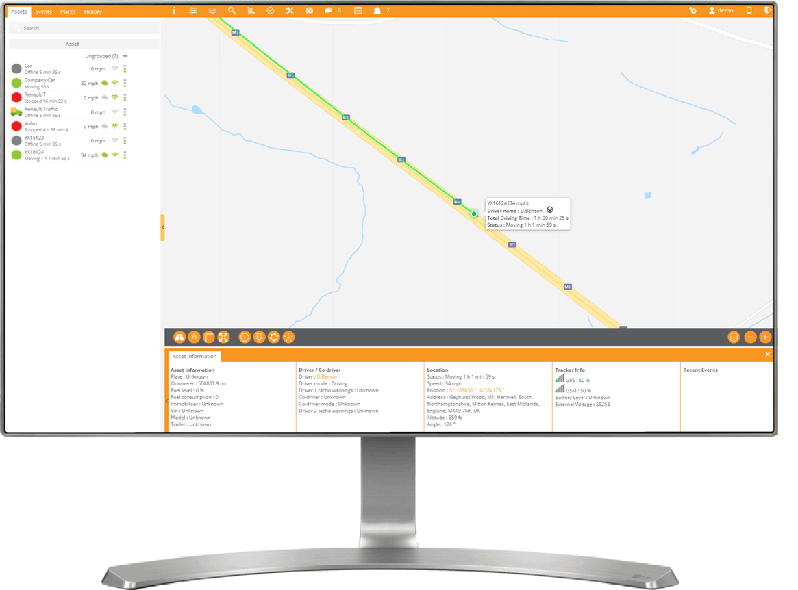 Tracking-Live-Map